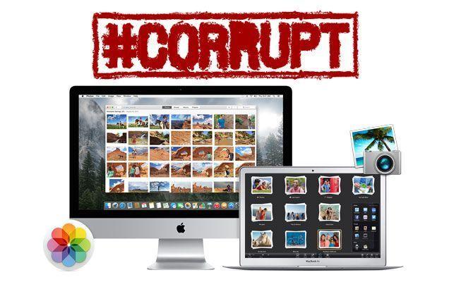 Como reparar fototeca de iPhoto o Fotos corrupta y como recuperar las fotos sino es posible repararla