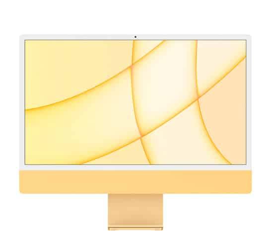 imac 24 m1 lado color amarillo