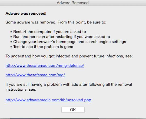 eliminar malware con AdwareMedic - MacServiceBcn 5