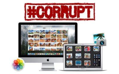 Cómo reparar la fototeca de iPhoto o Fotos dañada