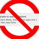 como eliminar notificación actualizar macOS