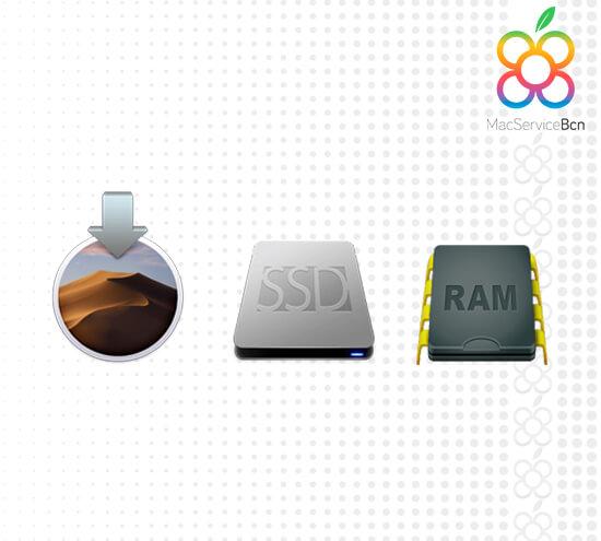 Packs disco SSD y RAM