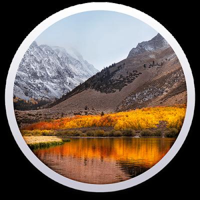 Logo MacOS High Sierra